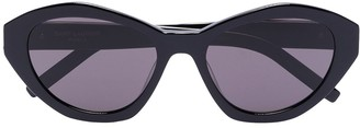 Saint Laurent Eyewear Hexagonal Sunglasses
