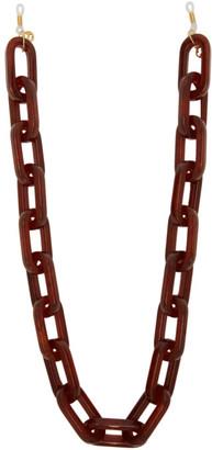 Gucci Brown Eyewear Chain