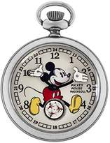 Ingersoll Unisex IND 25834 Mickey Mouse 30's Collection Silver-Tone Pocket Watch