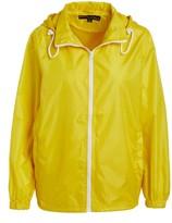 Big Chill Women's Non-Denim Casual Jackets Yellow - Yellow Pack-in-Pocket Ripstop Windbreaker - Women
