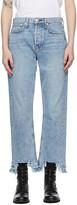 Thumbnail for your product : Rag & Bone Blue Maya High-Rise Slim Jeans
