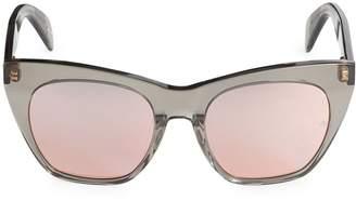 Rag & Bone Rae 52MM Cat Eye Sunglasses
