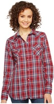 Roper 0997 Anthem Plaid Women's Clothing