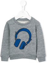 Paul Smith headphones print sweatshirt - kids - Cotton/Polyester - 24 mth