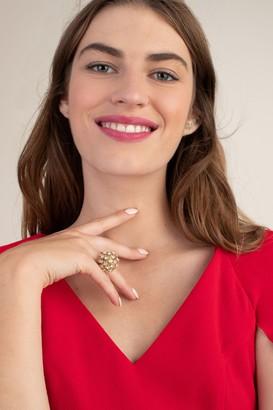 Trina Turk Crystal Burst Ring