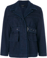 Isabel Marant Pleyel belted jacket - women - Cotton/Acrylic/Polyester - 36
