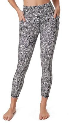X By Gottex Rachel Python Graphic Capri Leggings