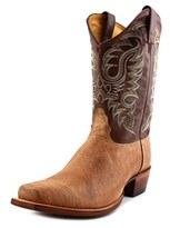Nocona Premium 2e Pointed Toe Leather Western Boot.