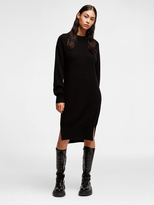 DKNY Cashmere Long Sleeve Dress