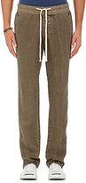 James Perse MEN'S LINEN DRAWSTRING PANTS