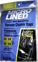 Panasonic MC-115P Type U3 Vacuum Bags, 3-Pack