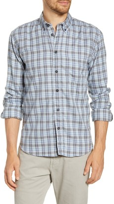 Billy Reid Taped Tuscumbia Standard Fit Plaid Cotton Button-Down Shirt