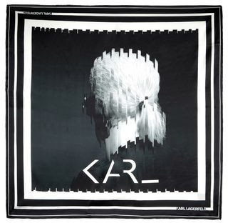 Karl Lagerfeld Paris Square scarf