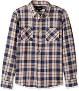 Brixton Men's Hoffman Standard Fit Long Sleeve Flannel Shirt