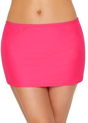 Sunsets Hot Pink Kokomo Skirted Bikini Bottom