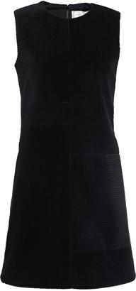 Victoria Victoria Beckham Cotton-corduroy Mini Dress