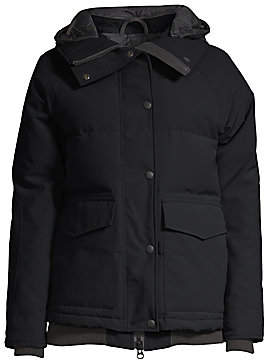 Canada Goose Women's Deep Cove Quilted Bomber Jacket