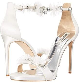 Badgley Mischka Cardi (Soft White) Women's Shoes