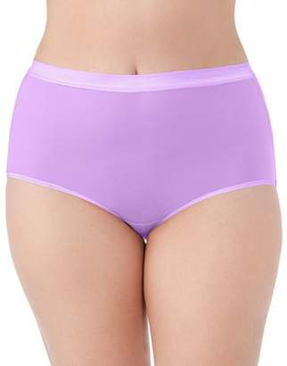 Fruit of the Loom Fit For Me By Fit for Me Women's Plus EverLight Brief Underwear, 4 Pack