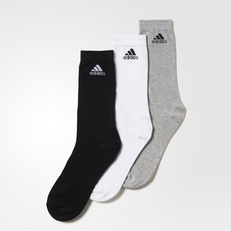 adidas Pack of 3 Performance Crew Boys Thin Socks