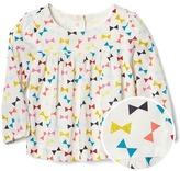 Gap Bright bow shirred top