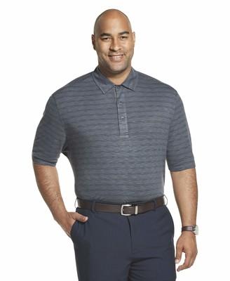 Van Heusen Men's Big & Tall Big and Tall Short Sleeve Air Performance Space Dye Polo Shirt