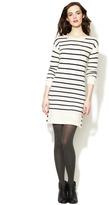 Trovata Striped Wool Sweater Dress