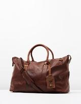 Lyle & Scott Vintage Leather Holdall
