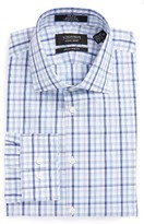 Nordstrom Men's Extra Trim Fit Non-Iron Plaid Dress Shirt