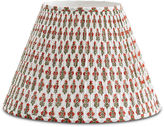 Bunny Williams Home Prickly Poppycape Lampshade, Red/Green