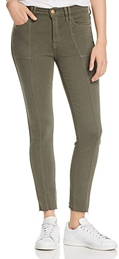 7 For All Mankind Roxanne Ankle Skinny Jeans in Fatigue - 100% Exclusive