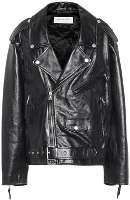Dries Van Noten Leather biker jacket