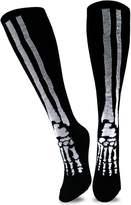 TeeHee Socks TeeHee Novelty Halloween Skelton Fun Socks (9-11, )