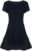 Sacai contrast dress
