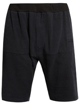 Longjourney Hangar Raw-edged Silk Shorts