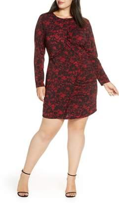 MICHAEL Michael Kors Lace Ruffle Dress
