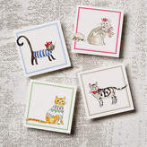 One Kings Lane Asst. of 12 Cats Note Cards