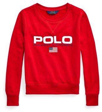 Ralph Lauren French Terry Graphic Pullover