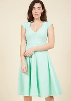ModCloth Name the Date A-Line Dress in Mint in M