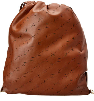Stella McCartney Logo Drawstring Backpack