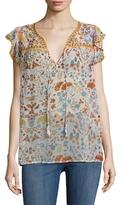 Antik Batik Samsa Floral Print Blouse