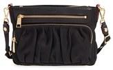 M Z Wallace 'Abbey' Bedford Nylon Crossbody Bag - Black