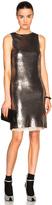 Maison Margiela Metallic Paillettes Mini Dress