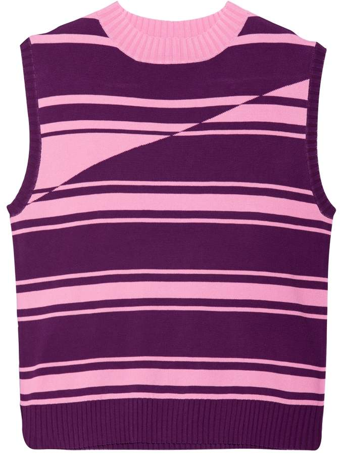 House of Holland Knit Stripe Top