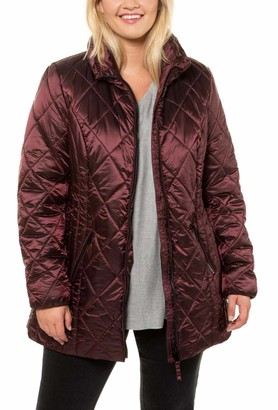 Ulla Popken Women's Steppjacke Jacket