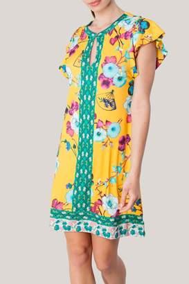 Hale Bob Zamia Keyhole Jersey-Dress