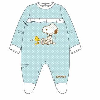 ARTESANIA CERDA Baby_Girl's Pelele Snoopy Footies