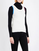 Calvin Klein Sleeveless ribbed-knit top