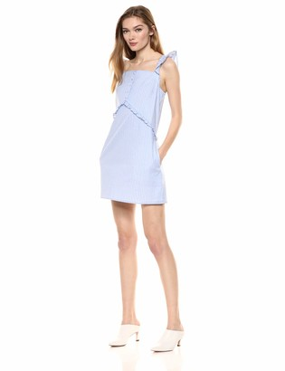 Ali & Jay Women's Picnic for Two Ruffle Shift Mini Dress