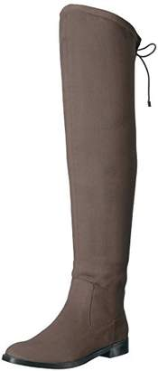 Kenneth Cole Reaction Women's Wind Chime Over The Knee Stretch Boot Low Heel Winter